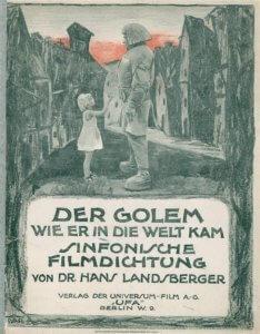 """Filmplakat """"Der Golem"""""""